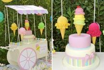 ICE CREAM PARTY {girl 1st birthday}