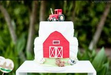 FARM PARTY {BOY 1ST BIRTHDAY}