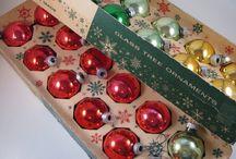Vintage Christmas Glass Ornaments / by Jeannie Holston