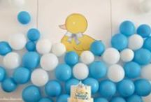 RUBBER DUCK {BOY PARTY}
