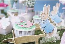 PETER RABBIT {1st birthday girl}
