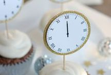 New Years Eve Inspiration / Ideas, recipes and décor for a NYE party!
