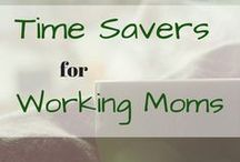 Pins for Working Moms / This board is for working moms, work from home moms, homeschooling moms and more. Practical ways to survive the work week and organizational tips to make life easier