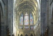 Cathedrals in Czechia / Christian churches which contains the seat of a bishop, thus serving as the central church of a diocese, conference, or episcopate in Czechia