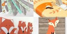 Fox Themed Nursery / Inspiration for the perfect fox themed nursery for your little one.