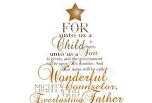 It's Beginning to Look A Lot Like Christmas / Home decor, yummy treats, wrappings, celebrate the season...Jesus is my man!