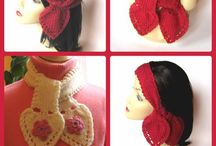 Valentines Day xoxo! / My knitted and crocheted accessories can be found at http://www.KnittingGuru.etsy.com. I'm always happy to answer any questions you send me there.