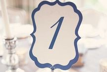 Table Numbers / by Wedding Planner & Guide