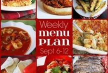Recipes: Menus & Meal Plans / Helping put meals on the table.