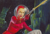 Sci-Fi Geek! / Hard science fiction and retro-futurism from the Atomic Age to infinity and beyond: Buck Rogers, astronauts, martians, pulp sci-fi, rayguns, robots, UFOs and more.