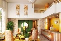 Hotel Lobbies: Grand Entrances, Inspired Spaces & Designer Details / #hospitality #contractdesign #hotels #resorts #boutiquehotels #commercialdesign #interiordesign