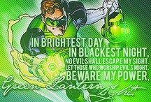 Green Lantern Geek! / The Green Lantern Corps and other Lantern Corps.