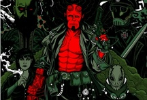 Hellboy Geek! / Hellboy is a demon who was summoned from Hell as an infant in 1944 by Nazi occultists. He was discovered by the Allied Forces; among them, Professor Trevor Bruttenholm, who formed the U.S. Bureau for Paranormal Research and Defense (BPRD). In time, Hellboy grew to be a large, red-skinned demon with a tail, horns (which he files off), cloven hooves for feet, and an oversized right hand made of stone. Although a bit gruff, he shows no malevolence and works with other odd creatures in the BPRD.