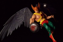 Hawkman and Hawkgirl Geek! / Thanagarian heroes Hawkman and Hawkgirl (Hawkwoman) are absolutely badasses. That is all.