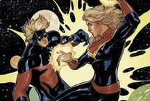 Ms. Marvel and Captain Marvel Geek!
