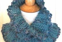 Scarves and Cowls / Ideas and sometimes patterns for scarves to inspire.