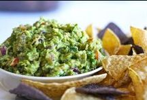 Recipes: Guacamole, Dips & Salsa / Mexican Appetizers......Ole!