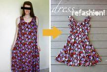Refashions / Recycling the out of fashion/old clothing