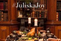 #JuliskaJoy / The holidays mean love, gratitude & gathering with loved ones to celebrate the season of traditions. Share how you use Juliska to celebrate! Tag us & include #JuliskaJoy in your holiday tablescape photos for a chance to win a shopping spree to Juliska.com. The more entries the merrier! (Contest ends January 2015) #juliskajoy #lamouretsavoirvivre  / by Juliska