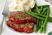 Recipes: Meatloaf-Meatballs / Scrumptious Ground Meat
