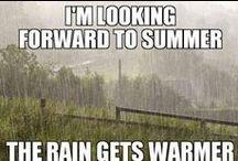 Britisches Wetter / Das wohl meist diskutierte Thema in UK: The British Weather!