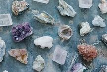The Crystal Cabinet / Natural geodes, crystals, rocks, for all the bohemian mother nature inspired crystal lovers of the world.