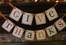 Thanksgiving Blessings / by Live. Laugh. Love. Trust God.