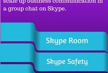 Skype Rooms / Join  a Skype Rooms. Create a Skype Room and Moderate a Skype room with old versions of Skype. Want to be a collaborator on Skype or Contributor to this PinBoard? Skype me: JulieWolf Skype Coach ... This is a good way to network on Skype AND Pinterest! Expand your connections! / by Julie Wolf Skype Coach