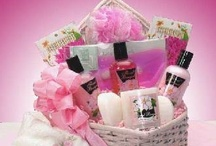 gift baskets  / by Live. Laugh. Love. Trust God.