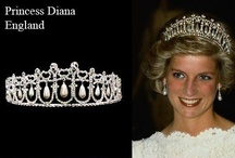 Princess Diana / Diana, Princess of Wales (Diana Frances Mountbatten-Windsor, née Diana Spencer) (July 1, 1961—August 3, 1997) was the first wife of Charles, Prince of Wales, and heir to the British throne. Her two sons, Prince William of Wales and Prince Henry of Wales are, respectively, second and third in line to the British throne. An iconic presence on the world stage, Diana was beloved by her British subjects and admired the world round for her far-reaching charity work.  / by Ding Marcelo