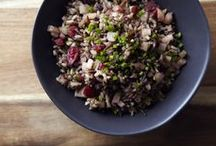 grain dishes / Great dishes using good whole grains.