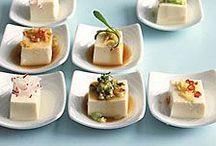 tofu is lovely / I love tofu done well.