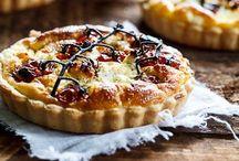 Broodjie in die oondjie / Broodjies (sout & soet), soutterte, flatbreads, pizzas, quiche ens.