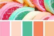 Inspiring Colours / Love it...inspirerende kleure & kleurkombinasies