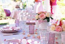Mooie Tafels / Mooi gedekte tafels, aansitetes, tafel dekor