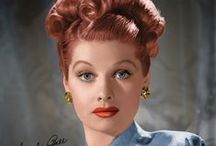 Lucille Ball 1911 - 1989 / Lucille Desiree Ball Born - August 6, 1911 Died - April 26, 1989 / by Melinda Fuller