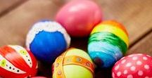 Easter Food, Easter Crafts, and Easter Decor. / All things Easter- amazing Easter eggs, Easter snacks, Easter decor
