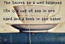 Tea + Books = Heaven / Because tea and books are the perfect combination! / by The Book Man