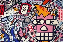 Paintings / Coming   from   punk   and   rock  culture,  Yann   Sciberras' work  is   cutting,   offbeat   and definitely urban.  Yann SCIBERRAS' work is incisive, unwedged and definitely urban.