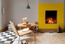 Fireplaces / by Makien Verkroost