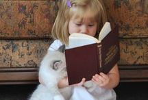 """Cuteness Overload! / Does it involve books and make you say """"awwwwww!!!!"""" at the same time? Then you'll find it here!"""