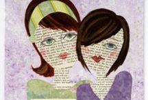 Art Journaling  / The wonderful world of Art Journaling  / by Charlene Bishop