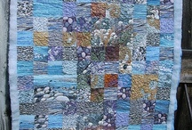 My work / My textile art and mixed media