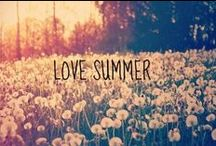 Summer Revelry / Freedom, spontaneity, outdoor picnics, new adventures, & the serendipity & magic that sunshine brings...summer inspires the playful in me <3