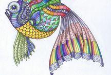 Zentangles Tangles Dangles :-) / by Kristin Dean