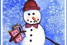Winter Reading / Seasonal reading for adults and children alike.