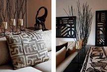 Reizen & interieur / Ik ben gek op interieurs die zijn geïnspireerd door reizen en exotische culturen.