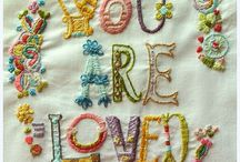 Hoops & Loops (embroidery & other pretty threadwork) / Stitching, needlework, embroidery, hand worked creations of all types