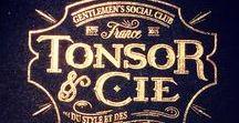 """Tonsor & Cie. / Gentlemen's Social club """"Du style et des bonnes manières"""""""