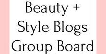 Beauty + Style Blogs Group Board / Beauty and style blogs give us excellent advice, helpful information, and, of course, inspire us! If you are interested in becoming a board member, please first follow me on Pinterest and then email me at AshleyRileyBeauty@gmail.com. ONLY PIN POSTS FROM BEAUTY AND STYLE BLOGS. DO NOT POST ADS, AFFILIATE LINKS, OR MULTIPLE POSTS OF THE SAME IMAGE OR ARTICLE. SPAM (AND USERS POSTING SPAM) WILL BE SWIFTLY DELETED.